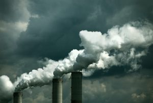 coal burned power plant chimneys; argb color spacesee other similar images: